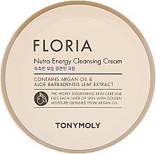 Parfumuri și produse cosmetice Cremă de curățare pentru față - Tony Moly Floria Nutra-Energy Cleansing Cream