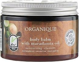 Parfumuri și produse cosmetice Balsam cu ulei de macadamia pentru corp - Organique Shea Butter Body Balm With Macadamia Oil