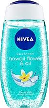 Parfumuri și produse cosmetice Tratament-Gel de duș - Nivea Hawaii Flower & Oil Shower Gel