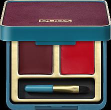 Parfumuri și produse cosmetice Paletă - Pupa Retro Retro illusion Lip Palette
