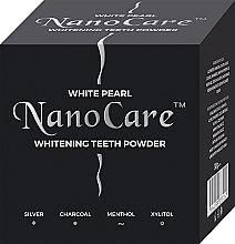 Parfumuri și produse cosmetice Praf de albire pentru dinți - VitalCare White Pearl NanoCare Charcoal Teeth Powder