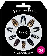 Parfumuri și produse cosmetice Set unghii false cu adeziv, 3064 - Donegal Express Your Beauty