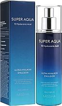 Parfumuri și produse cosmetice Emulsie hidratantă pentru față - Missha Super Aqua Ultra Hyalron Emulsion