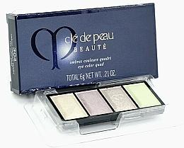 Parfumuri și produse cosmetice Paletă fard de ochi - Cle De Peau Beaute Eye Color Quad Refill
