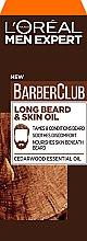 Parfumuri și produse cosmetice Ulei pentru barbă și față - L'Oreal Paris Men Expert Barber Club Long Beard + Skin Oil