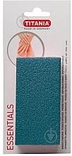 Parfumuri și produse cosmetice Piatră ponce pentru picioare, albastră - Titania