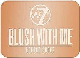 Parfumuri și produse cosmetice Fard de obraz - W7 Blush With Me Color Cubes
