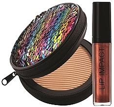 Parfumuri și produse cosmetice Set - NoUBA Sunlike Natural Tan №1 (f/powder/15g + lip gloss/6ml)