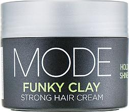 Parfumuri și produse cosmetice Крем для объема сильной фиксации - Affinage Mode Funky Clay