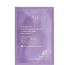 Parfumuri și produse cosmetice Mască pe bază de acid hialuronic pentru zona ochilor - Thalgo Hyaluronic Eye-Patch Masks