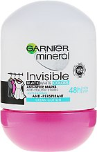 Parfumuri și produse cosmetice Deodorant roll-on - Garnier Invisible Black White Colors