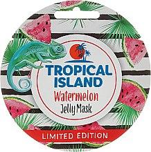 """Parfumuri și produse cosmetice Mască de față """"Pepene verde"""" - Marion Tropical Island Watermelon Jelly Mask"""