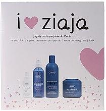 Parfumuri și produse cosmetice Set - Ziaja (mousse/200ml + soap/300ml + ser/50ml + ton/200ml)