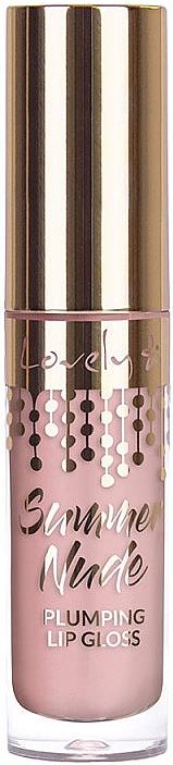 Luciu de buze - Lovely Summer Nude Plumping Lip Gloss