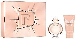 Parfumuri și produse cosmetice Paco Rabanne Olympea - Set (edp/50ml + b/lot/75ml)