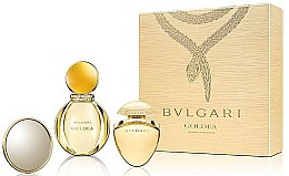 Parfumuri și produse cosmetice Bvlgari Goldea - Set (edp/50ml + edp/25ml + mirror)