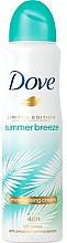"""Parfumuri și produse cosmetice Deodorant antiperspirant """"Summer Breeze"""" - Dove Summer Breeze"""