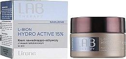 Parfumuri și produse cosmetice Cremă hidratantă și nutritivă pentru față de noapte - Lirene Lab Therapy Moisture L-Bion Hydro Active 15% Cream