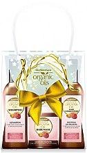 Parfumuri și produse cosmetice Set - GlySkinCare Organic Opuntia Oil (h/mask/300ml + shmp/250ml + h/cond/250ml)