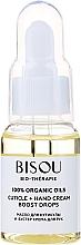 Parfumuri și produse cosmetice Ulei pentru cuticulă și cremă de mâini - Bisou Bio-Therape