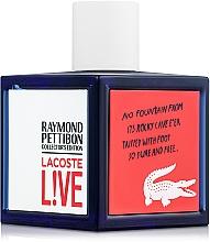 Parfumuri și produse cosmetice Lacoste Lacoste Live Collector`s Edition - Apă de toaletă