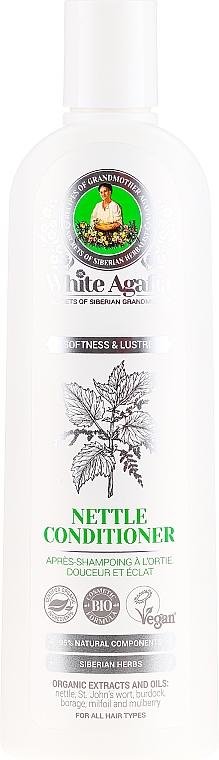 """Balsam de păr cu urzică """" strălucire blândă """" - Reţete bunicii Agafia White Agafia Netle Conditioner — Imagine N1"""