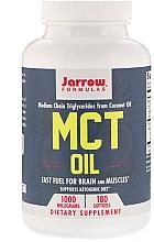 """Parfumuri și produse cosmetice Supliment alimentar """"Ulei MCT, 1000 mg"""" - Jarrow Formulas MCT Oil 1000mg"""