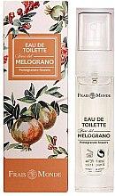 Parfumuri și produse cosmetice Frais Monde Pomegranate Flowers - Apă de toaletă