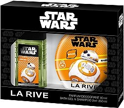 Parfumuri și produse cosmetice La Rive Star Wars Droid - Set (deo/80ml+sh/gel/shm/250ml)