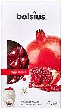 """Parfumuri și produse cosmetice Ceara aromatică """"Rodie"""" - Bolsius True Scents Pomegranate"""