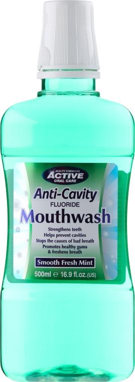 Apă de gură - Beauty Formulas Active Oral Care Anti-Cavity Mouthwash