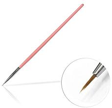 Parfumuri și produse cosmetice Pensulă de unghii pentru decorațiuni, 4 mm Pink - Silcare Brush 00