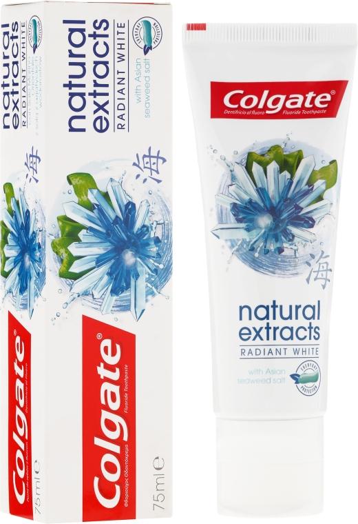 """Pastă de dinți """"Albire sigură"""" - Colgate Natural Extracts Radiant White Seaweed"""