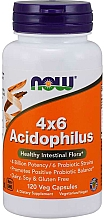 "Parfumuri și produse cosmetice Supliment alimentar ""Probiotice"" - Now Foods 4x6 Acidophilus Veg"