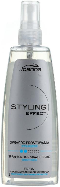 Спрей для выравнивания волос - Joanna Styling Effect Spray For Hair Straightening Smoothing