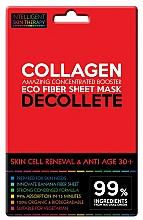 Parfumuri și produse cosmetice Mască-express pentru zona decolteului - Beauty Face IST Skin Cell Reneval & Anti Age Decolette Mask Marine Collagen