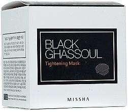 Parfumuri și produse cosmetice Mască de față purificatoare pentru micșorarea porilor dilatați - Missha Black Ghassoul Tightening Mask