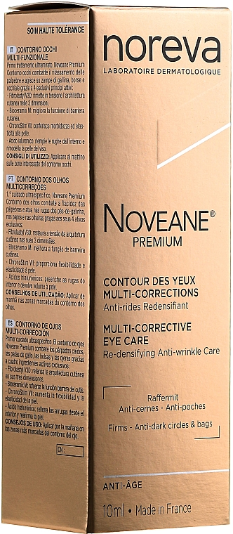 Cremă pentru pleoape - Noreva Laboratoires Noveane Premium Multi-Corrective Eye Care — Imagine N4