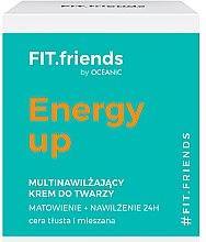 Parfumuri și produse cosmetice Cremă de față - AA Fit.Friends Energy Up Face Cream