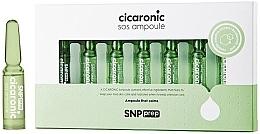 Parfumuri și produse cosmetice SNP Prep Cicaronic SOS Ampoule - Fiole cu efect calmant pentru față