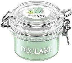 Parfumuri și produse cosmetice Mască antistres cu ceai verde matcha și aloe vera pentru față - Declare Matcha and Aloe Vera Mask