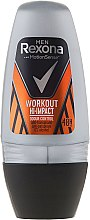 Parfumuri și produse cosmetice Deodorant roll-on - Rexona Men Motionsense Workout Hi-impact 48h Anti-perspirant