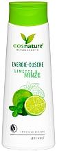 """Parfumuri și produse cosmetice Gel de duș """"Lime și mentă"""" - Cosnature Shower Gel Energy Mint & Lime"""