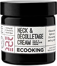 Parfumuri și produse cosmetice Крем для шеи и зоны декольте - Ecooking Neck & Decolletage Cream