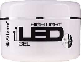 Parfumuri și produse cosmetice Gel pentru extensia unghiilor - Silcare High Light LED Pink