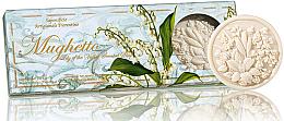 """Parfumuri și produse cosmetice Set săpunuri """"Lavandă"""" - Saponificio Artigianale Fiorentino Lily Of The Valley Soap"""