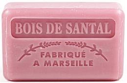 """Parfumuri și produse cosmetice Săpun de Marsilia """"Lemn de santal"""" - Foufour Savonnette Marseillaise"""