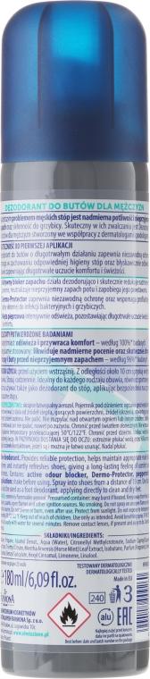 Deodorant pentru picioare și încălțăminte - Farmona Nivelazione For Men Shoe Antiperspirant — фото N2