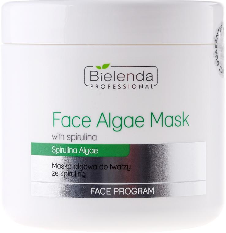Mască alginată cu spirulină pentru față - Bielenda Professional Algae Spirulina Face Mask