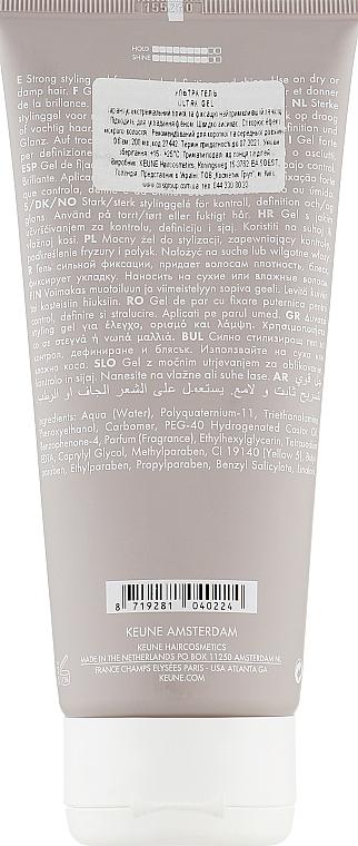 Ультрагель для волос №88 - Keune Style Ultra Gel  — фото N2
